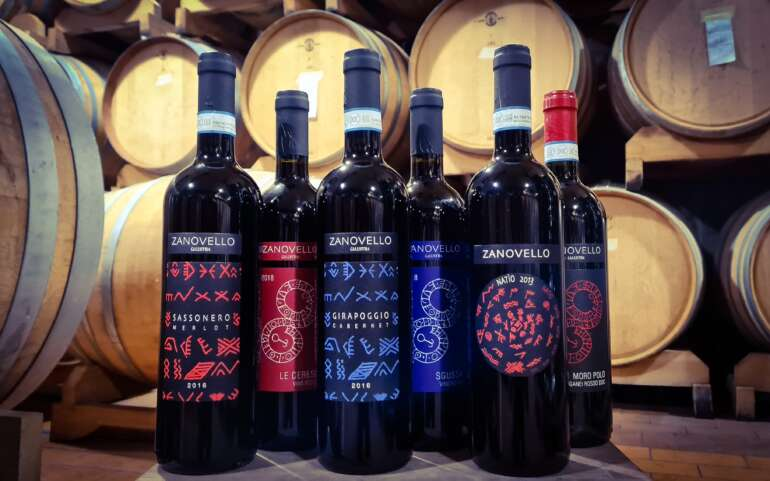 Ca' Lustra box: 6 Bordelais volcanic wines to discover the Euganean Hills.