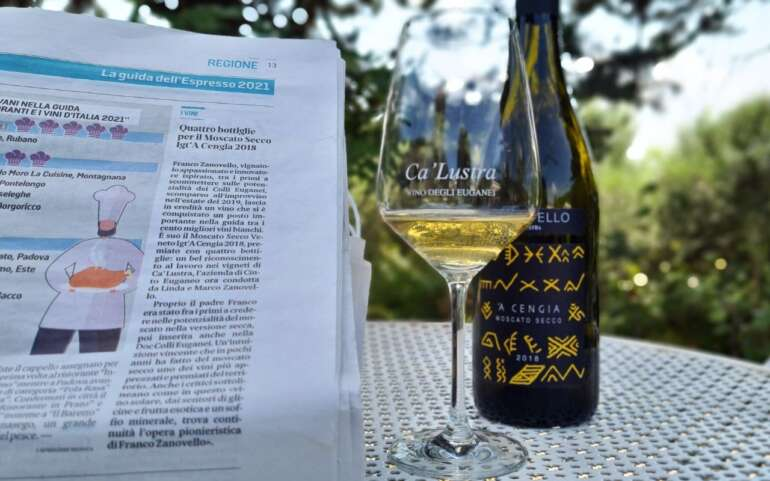 Moscato Secco IGT Veneto 'A Cengia 2018 has been selected among the 100 best white wines
